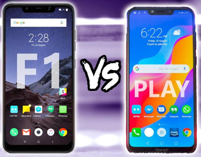 POCO F1 или HONOR PLAY?