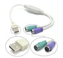 USB PS2 адаптер переходник клавы и мышки