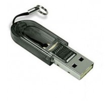 USB кардридер MicroSD 2.0 раскладной