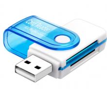 USB кардридер M2 TF SD microSD 5 в 1 s212