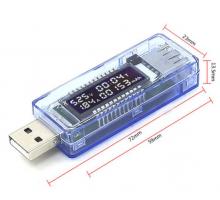 USB тестер заряда амперметр вольтметр