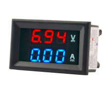 Вольтметр Амперметр DC 0-100В 10A