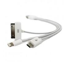 USB 3 в 1 зарядное универсальное
